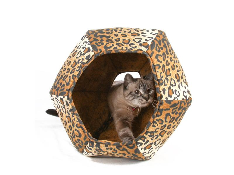 The Cat Ball Ball Bed, Leopard