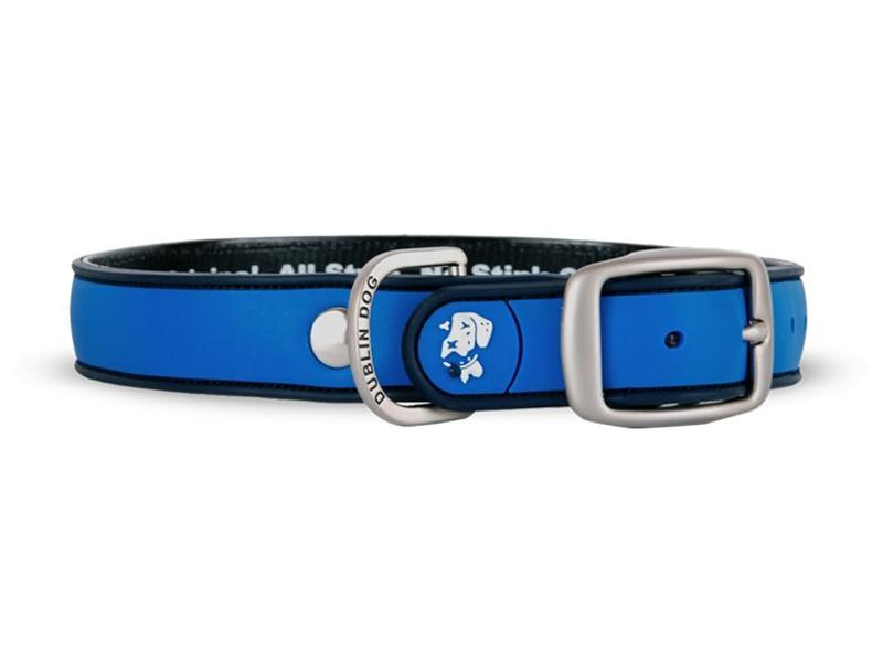 Dublin Dog Waterproof Collar, Blue