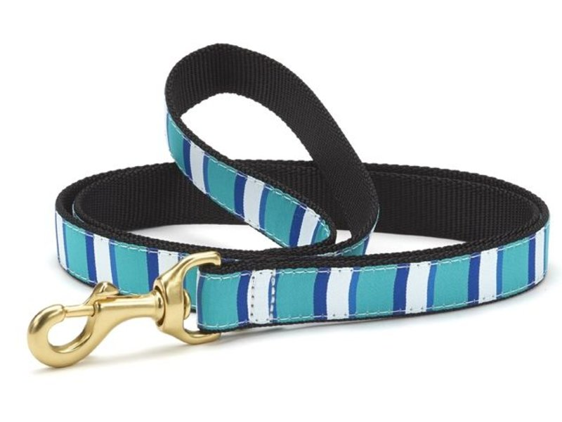 Up Country Dog Leash, Bermuda Stripe