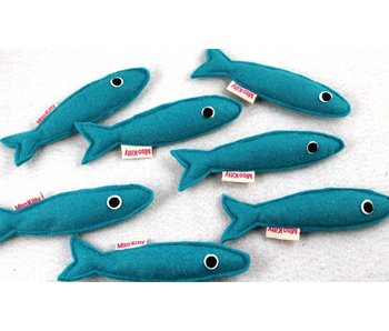 Miso Handmade Sardine Catnip Toy