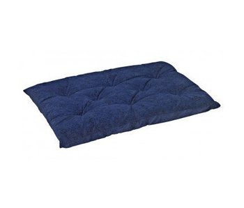 Bowsers Tufted Cushion, Navy Filigree