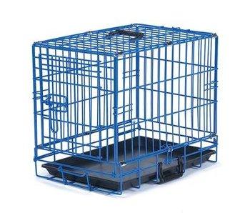 Blue Folding Crate