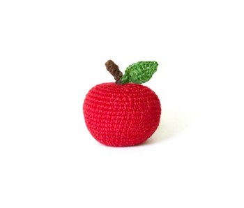 Ware of the Dog Apple knit toy