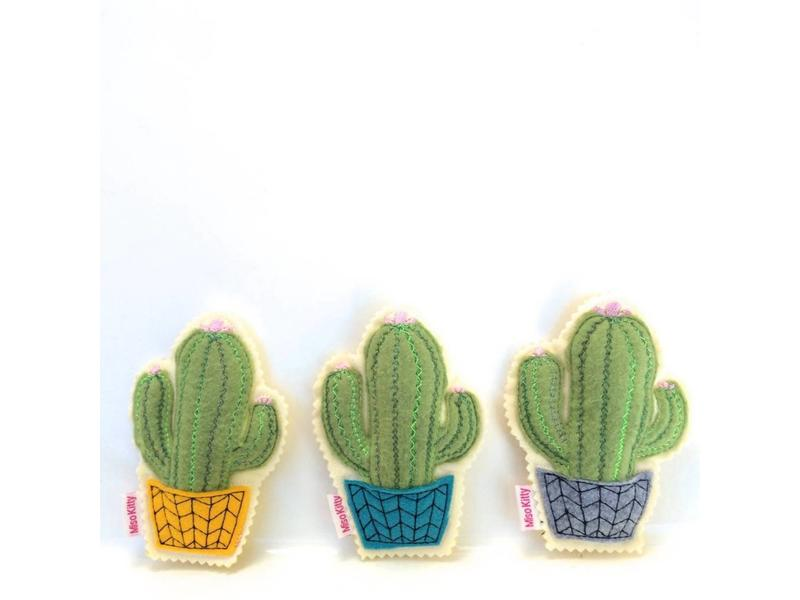Miso Handmade Cactus Catnip Toy