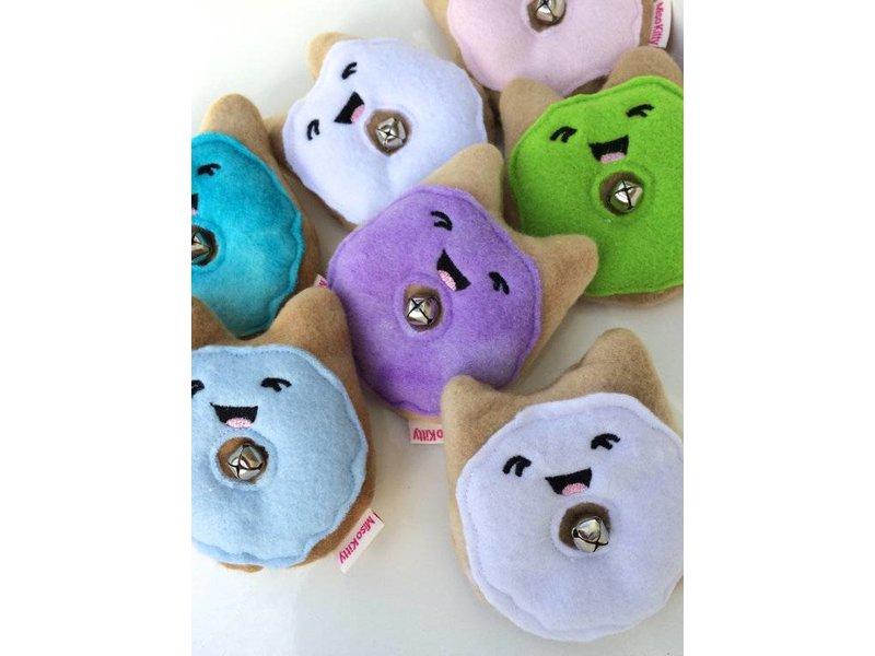 Miso Handmade Jingle Donut Catnip Toy