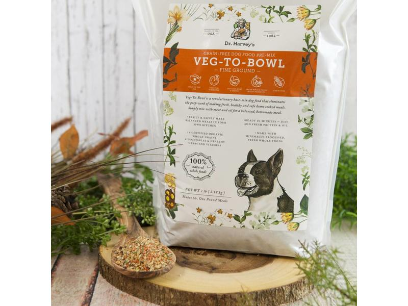 Dr. Harvey's Veg To Bowl for Dogs, Fine Ground