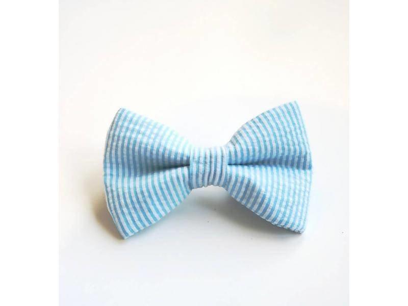 The Modern Mutt Bow-Tie, Seersucker