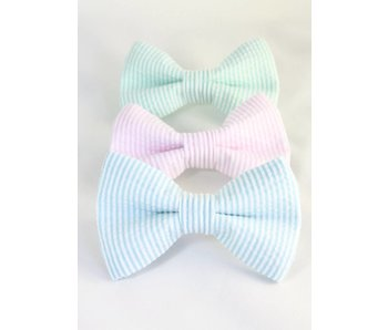 The Modern Mutt Bow-Tie, Seersucker