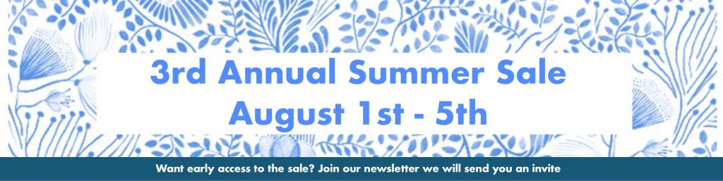 3rd Annual Summer Sale