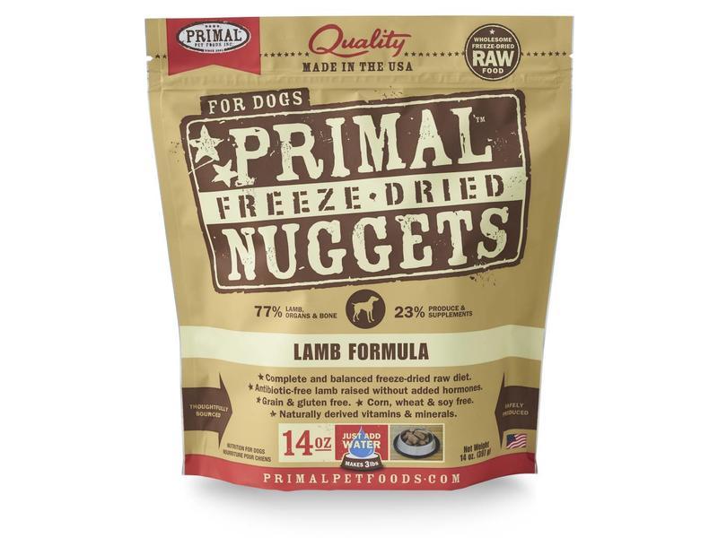 Primal Freeze-Dried Lamb Formula