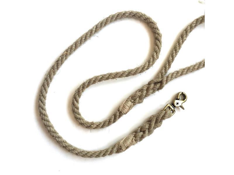Green Trout Hemp Rope Lead