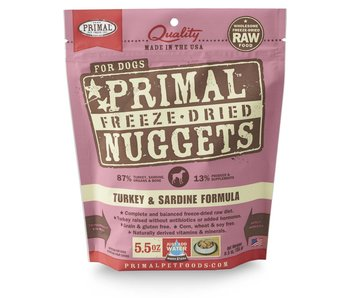 Primal Freeze-Dried Formula Turkey & Sardine