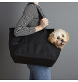 Love Thy Beast Canvas Pet Tote, Black