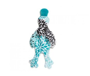 West Paw Stuffless Duck Toy, Bloom