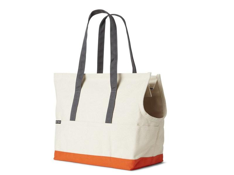 Love Thy Beast Canvas Pet Tote, Natural