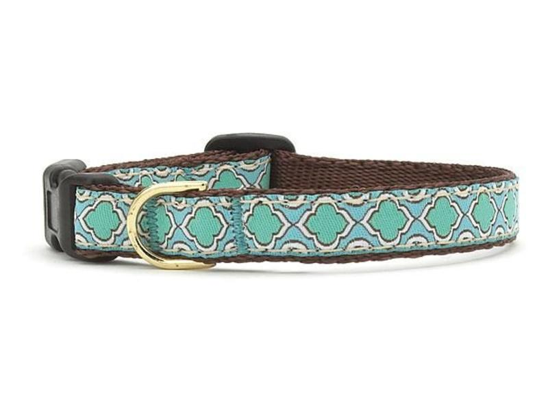 Up Country Dog Collar Seaglass