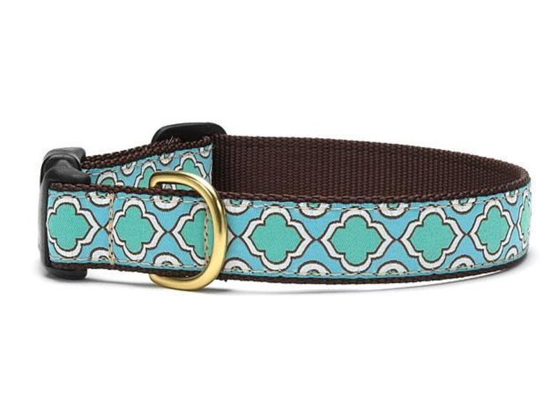 Up Country Dog Collar Seaglass