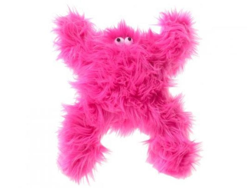 West Paw Pink Boogey Monster Toy