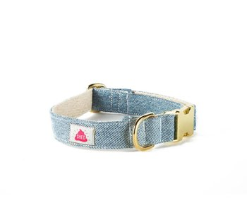 SHED Brooklyn Light Wash Denim Collar