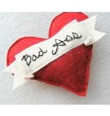 Miso Handmade Bad Ass Heart Catnip Toy