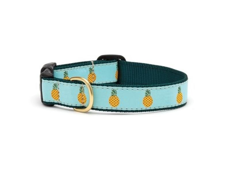 Up Country Dog Collar Pineapple