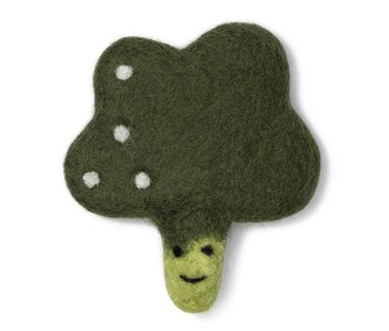 Love Thy Beast Broccoli Wool Toy