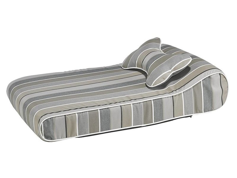 Bowsers Contour Lounger, Stripe Collection
