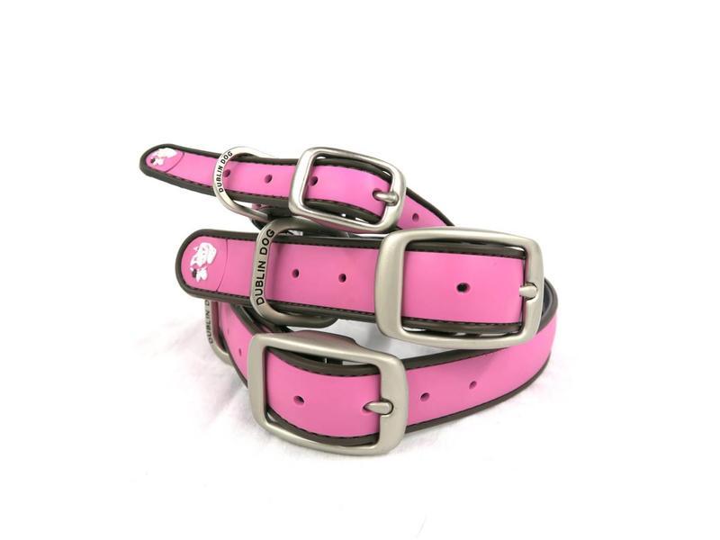 Dublin Dog Pink Waterproof Collar