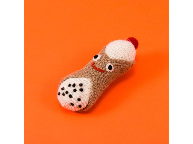 Ware of the Dog Hand Knit Cannoli