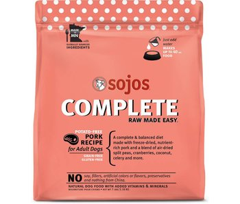Sojos New Complete Pork