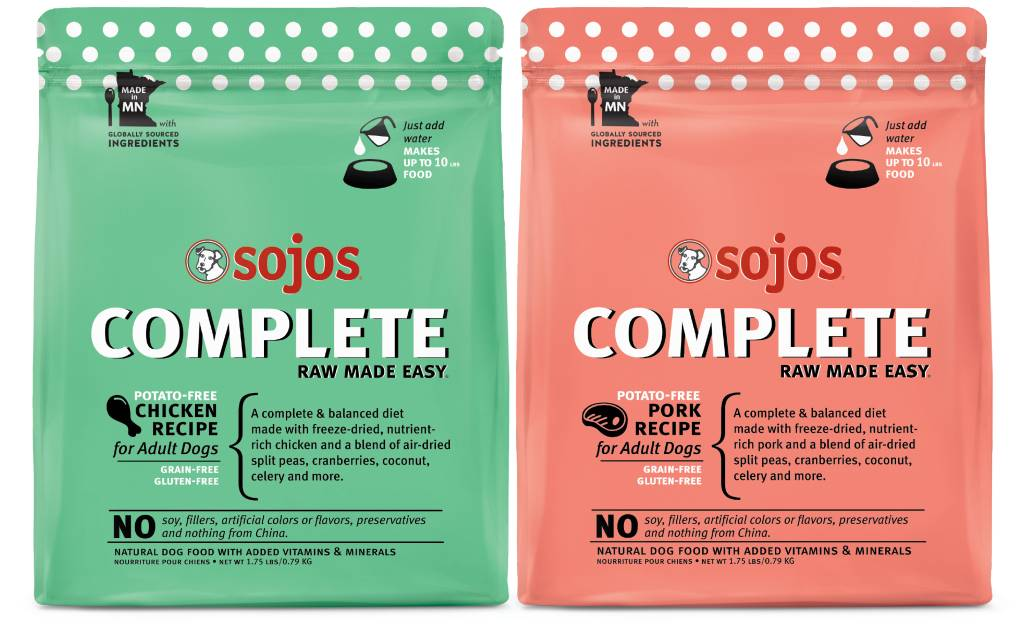 NEW Complete flavors from Sojos