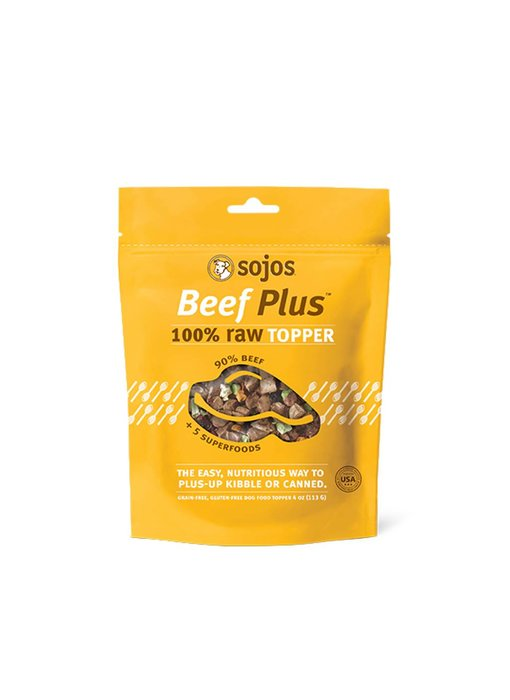 Sojos Toppers Beef Plus