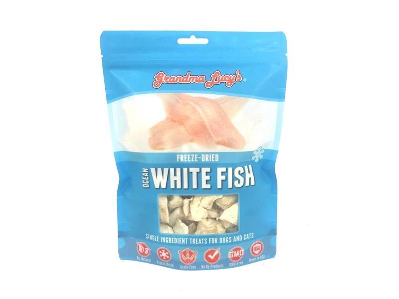 Grandma Lucy's Singles Freeze-Dried Ocean White Fish