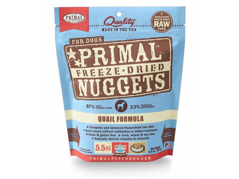 Primal Canine Quail Freeze-Dried Formula
