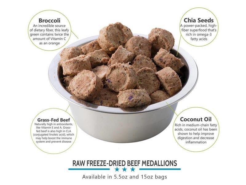 Valiant Pet Nutrition Raw Ketogenic Freeze-Dried Beef