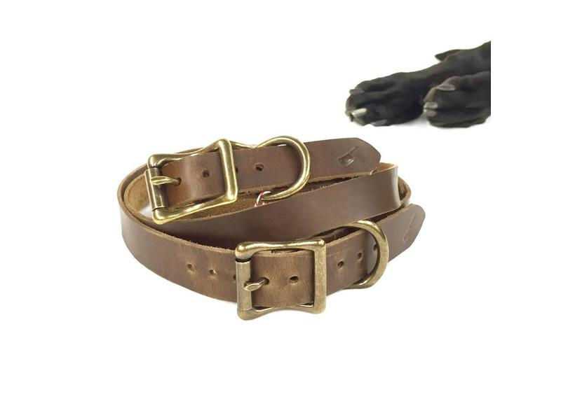 Choice Cuts Horween Leather Collar Russet