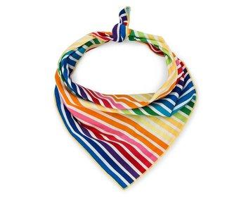Love Thy Beast Bandana, Rainbow Stripe