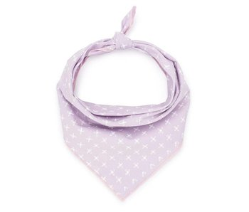 Love Thy Beast Bandana, Lilac Cross
