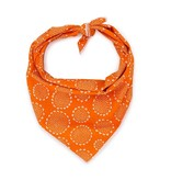 Love Thy Beast Bandana, Orange Paisley