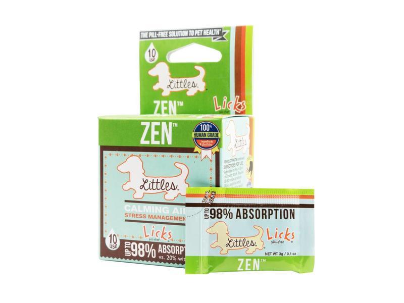 Licks Pill-Free Calming Aid Zen Littles