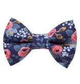 "Sweet Pickles Designs Cat Collar & Bow Tie, ""The Wonderland"""