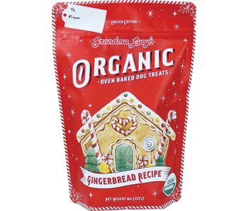 Grandma Lucy's Limited Edition Organic Gingerbread Oven Baked Dog Treats