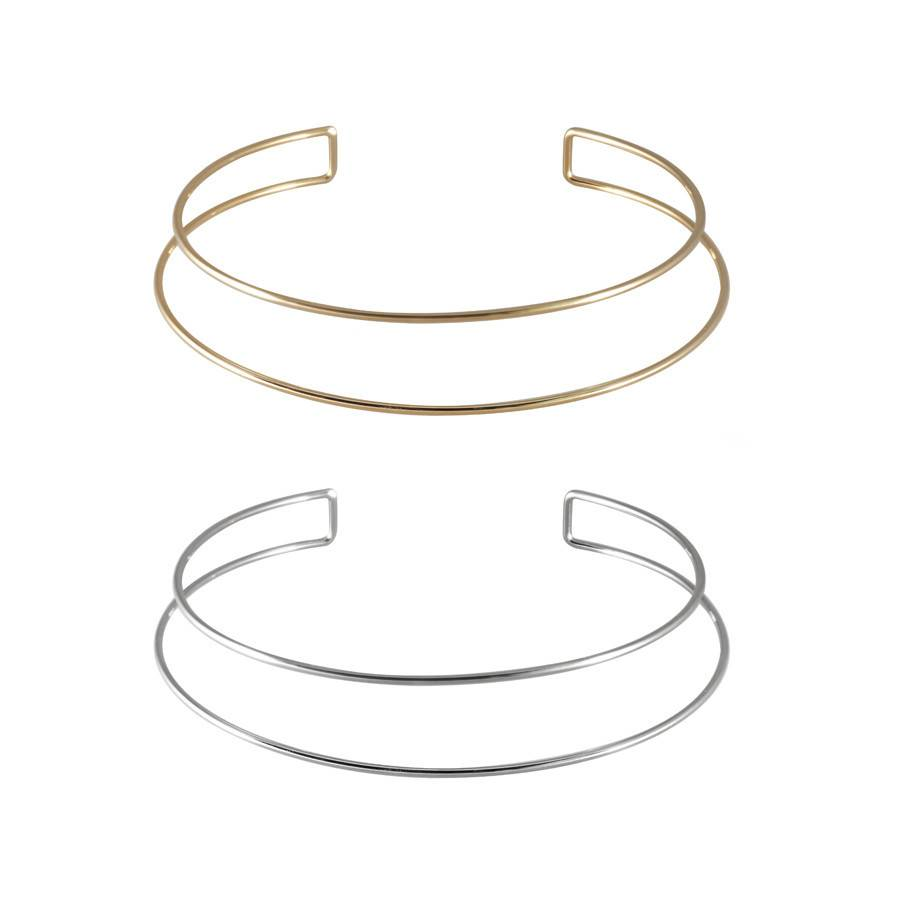 W + Co Double-Bar Choker