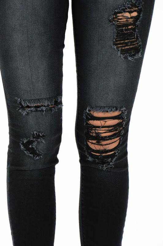 Judy Blue Jeans Courtney Ripped Jeans