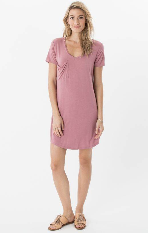 Z Supply Pocket Tee Dress