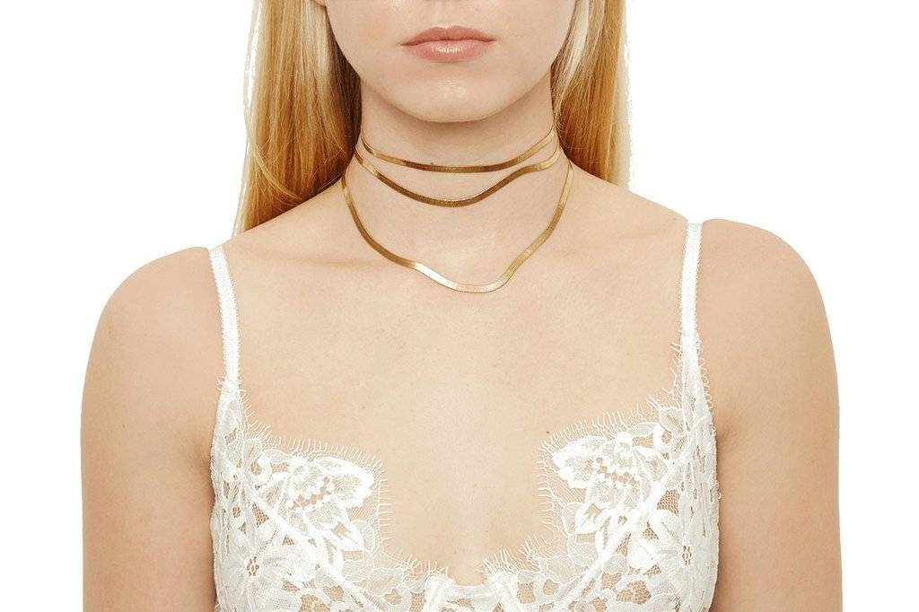 Frasier Sterling Valley Wrap Choker