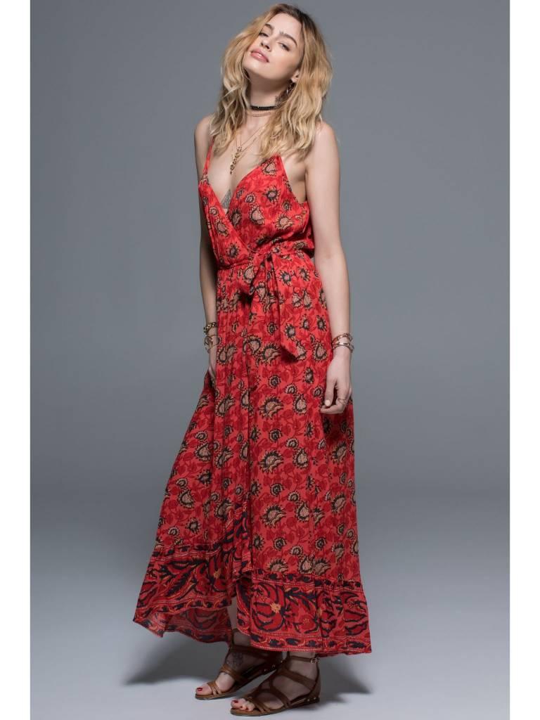 Band of Gypsies Louella Wrap Dress