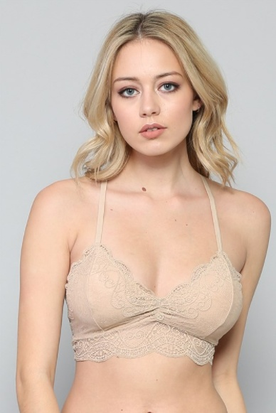 By Together Padded Triangle Bralette