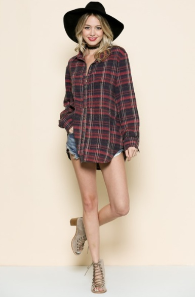 By Together Your Favorite Plaid Shirt