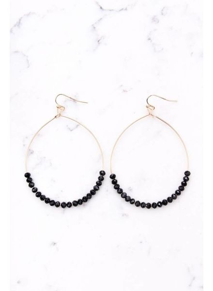 Shira Melody Penny Hoops